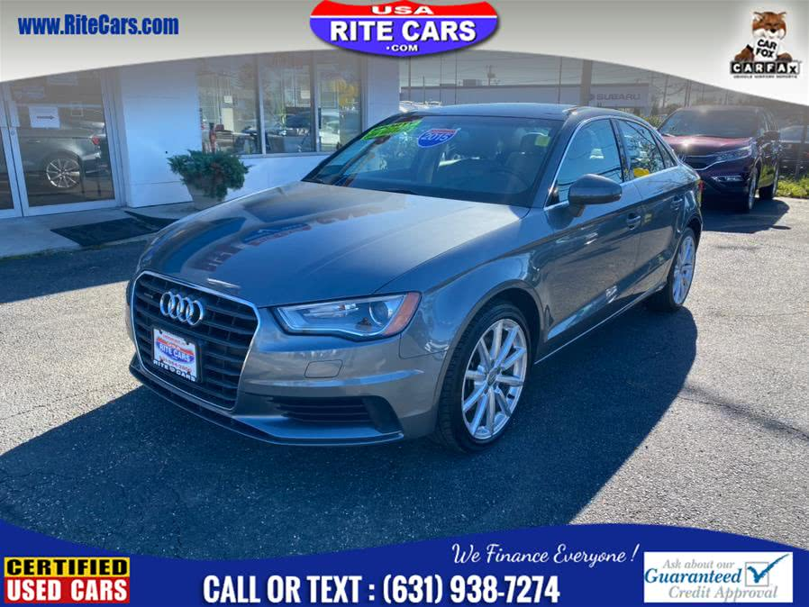 Used Audi A3 4dr Sdn quattro 2.0T Premium Plus 2015 | Rite Cars, Inc. Lindenhurst, New York