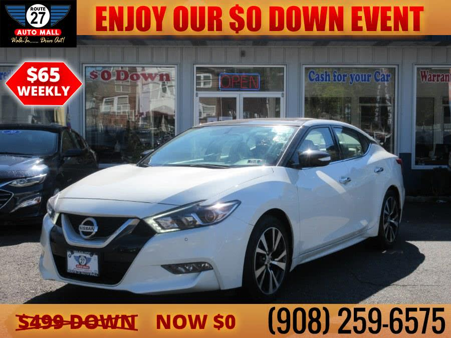 Used 2017 Nissan Maxima in Linden, New Jersey   Route 27 Auto Mall. Linden, New Jersey