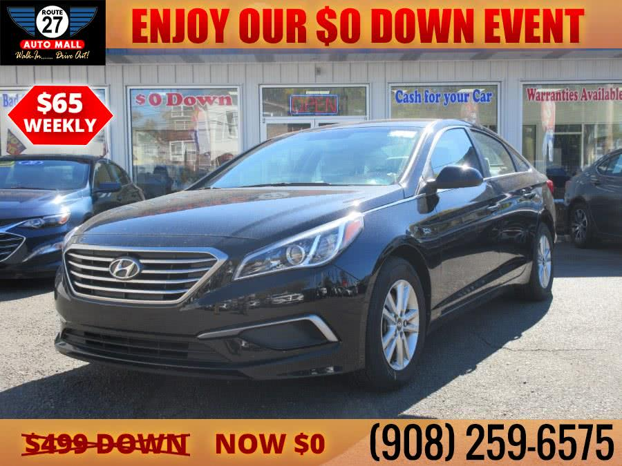 Used 2017 Hyundai Sonata in Linden, New Jersey | Route 27 Auto Mall. Linden, New Jersey