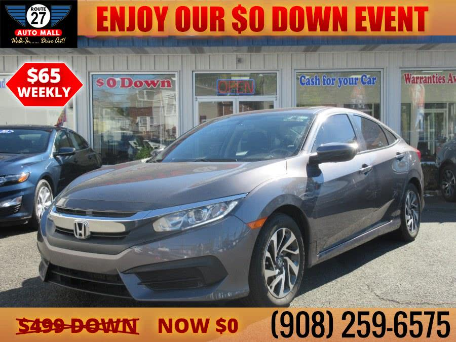Used 2018 Honda Civic Sedan in Linden, New Jersey | Route 27 Auto Mall. Linden, New Jersey