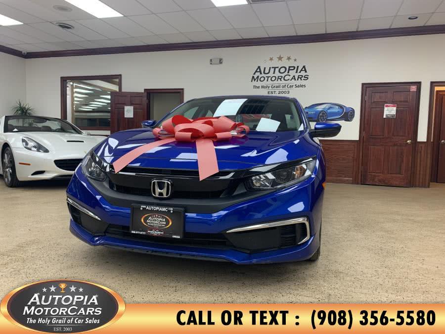 Used Honda Civic Sedan LX CVT 2019 | Autopia Motorcars Inc. Union, New Jersey
