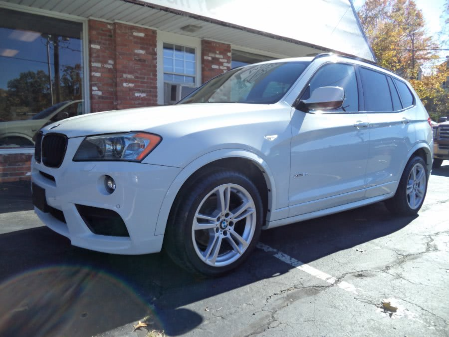 Used 2014 BMW X3 in Naugatuck, Connecticut | Riverside Motorcars, LLC. Naugatuck, Connecticut