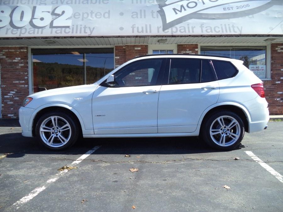 Used BMW X3 AWD 4dr xDrive35i 2014 | Riverside Motorcars, LLC. Naugatuck, Connecticut