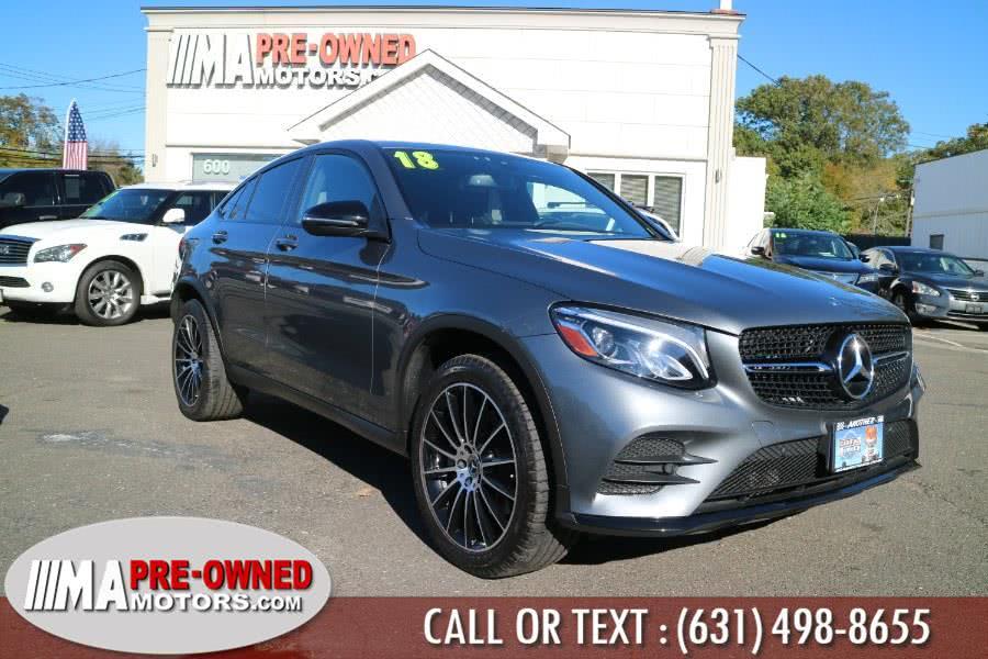 Used 2018 Mercedes-Benz GLC300 coupe suv in Huntington, New York | M & A Motors. Huntington, New York