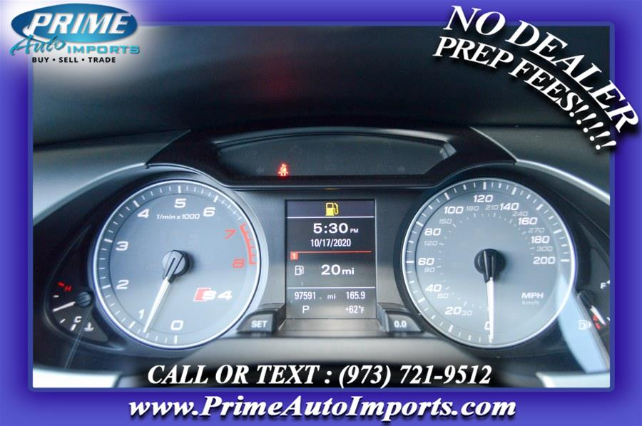 Used Audi S4 4dr Sdn S Tronic Prestige 2011 | Prime Auto Imports. Bloomingdale, New Jersey