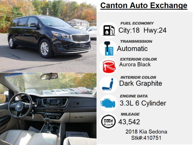 Used Kia Sedona L 2018 | Canton Auto Exchange. Canton, Connecticut