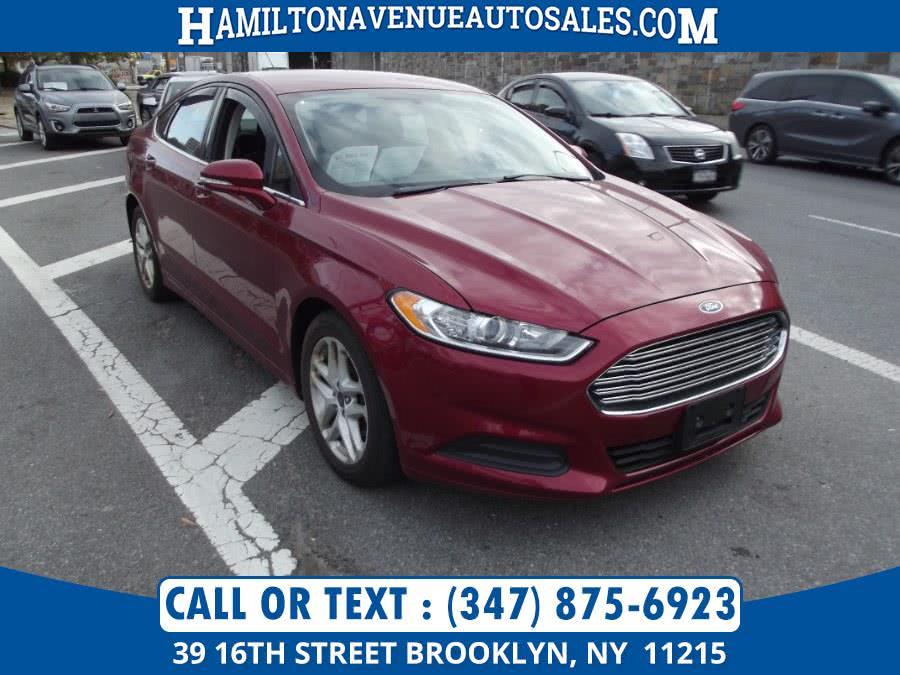 Used Ford Fusion 4dr Sdn SE FWD 2014 | Hamilton Avenue Auto Sales DBA Nyautoauction.com. Brooklyn, New York