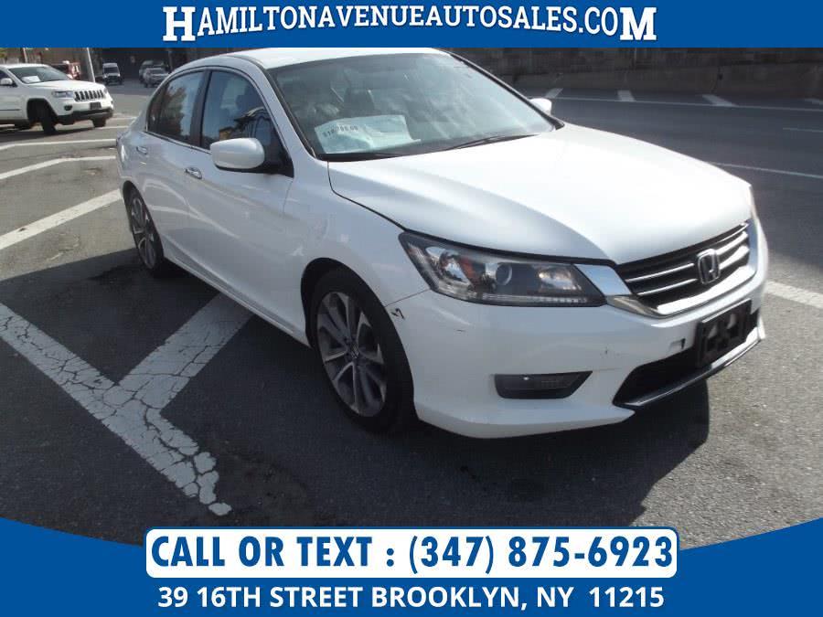 Used Honda Accord Sedan 4dr I4 CVT Sport 2014 | Hamilton Avenue Auto Sales DBA Nyautoauction.com. Brooklyn, New York