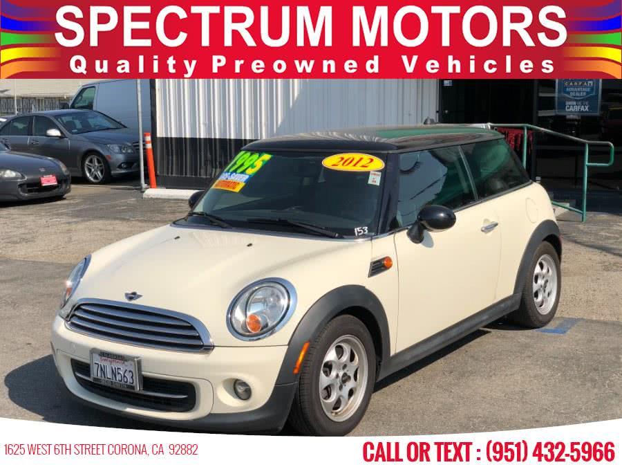 Used 2012 MINI Cooper Hardtop in Corona, California | Spectrum Motors. Corona, California