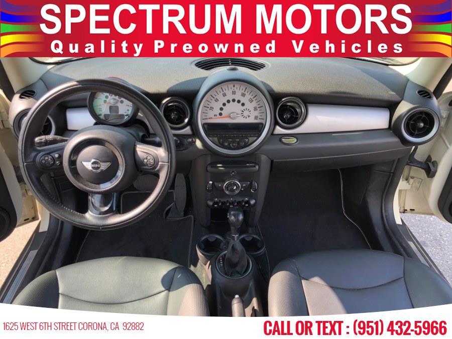 Used MINI Cooper Hardtop 2dr Cpe 2012 | Spectrum Motors. Corona, California