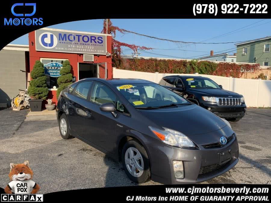 Used 2011 Toyota Prius in Beverly, Massachusetts   CJ Motors Inc. Beverly, Massachusetts