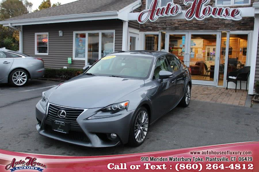 Used Lexus IS 250 4dr Sport Sdn Auto AWD 2014 | Auto House of Luxury. Plantsville, Connecticut
