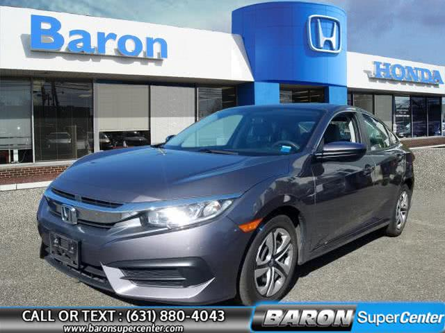 Used Honda Civic Sedan LX 2018 | Baron Supercenter. Patchogue, New York
