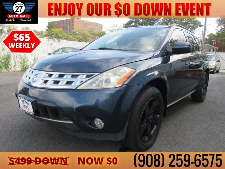 Used 2003 Nissan Murano in Linden, New Jersey | Route 27 Auto Mall. Linden, New Jersey