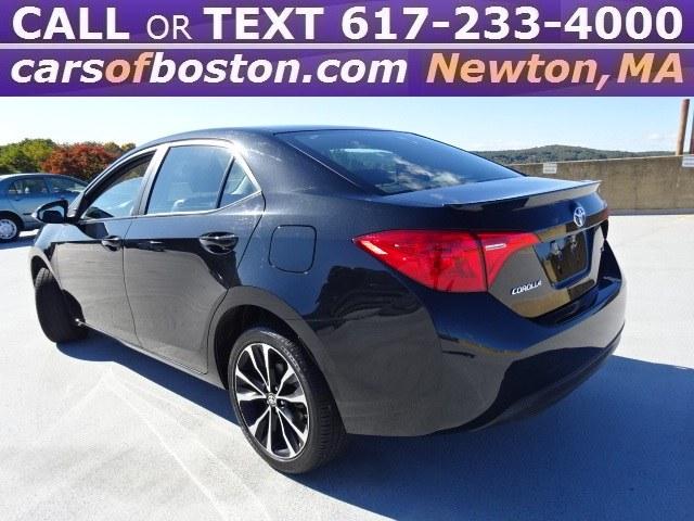 Used Toyota Corolla SE CVT (Natl) 2017   Cars of Boston. Newton, Massachusetts