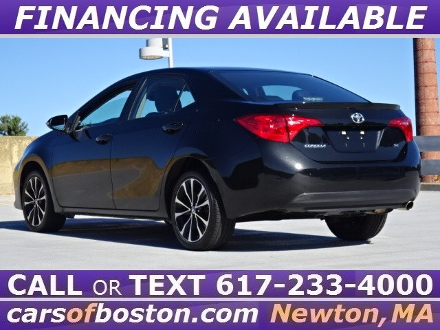 Used Toyota Corolla SE CVT (Natl) 2017 | Jacob Auto Sales. Newton, Massachusetts