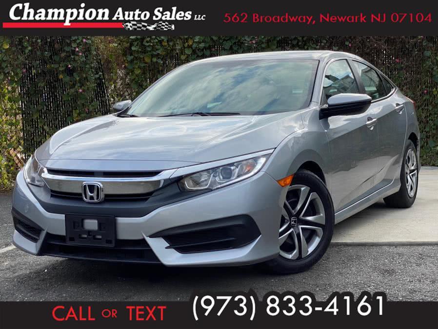 Used 2018 Honda Civic Sedan in Newark, New Jersey | Champion Auto Sales. Newark, New Jersey
