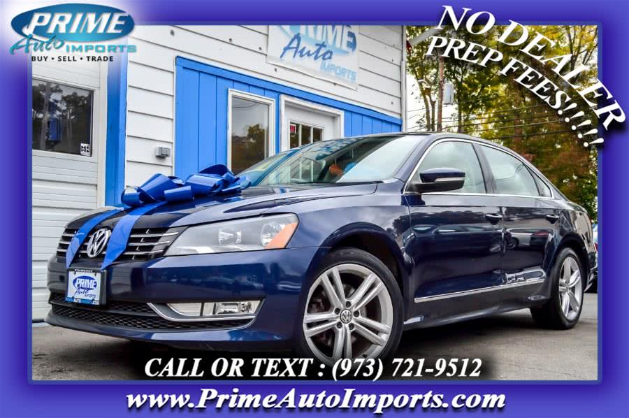 Used 2013 Volkswagen Passat in Bloomingdale, New Jersey | Prime Auto Imports. Bloomingdale, New Jersey