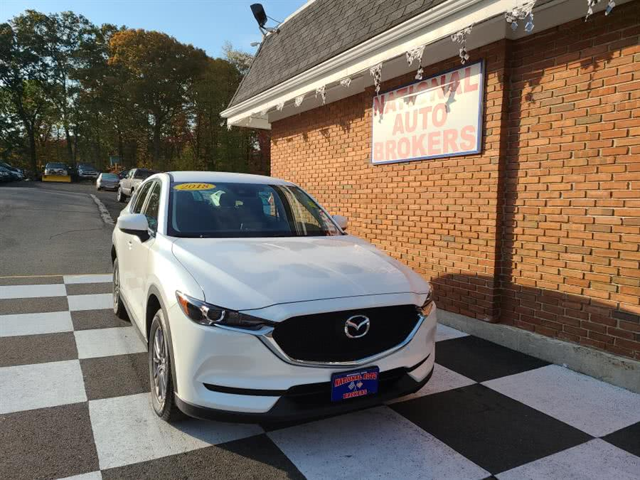 Used 2018 Mazda CX-5 in Waterbury, Connecticut | National Auto Brokers, Inc.. Waterbury, Connecticut