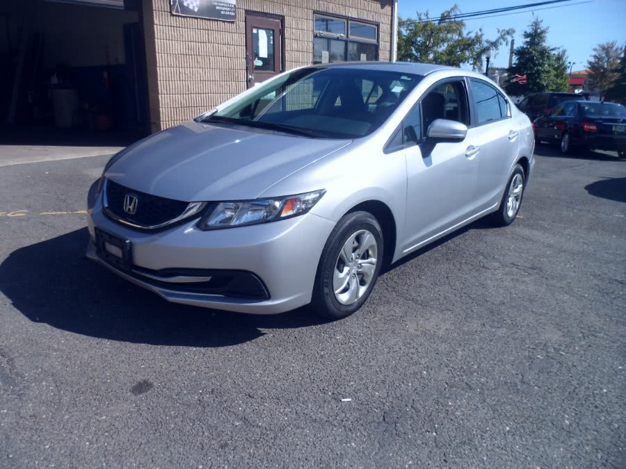 Used Honda Civic Sedan 4dr CVT LX 2015 | Hurd Auto Sales. Bridgeport, Connecticut