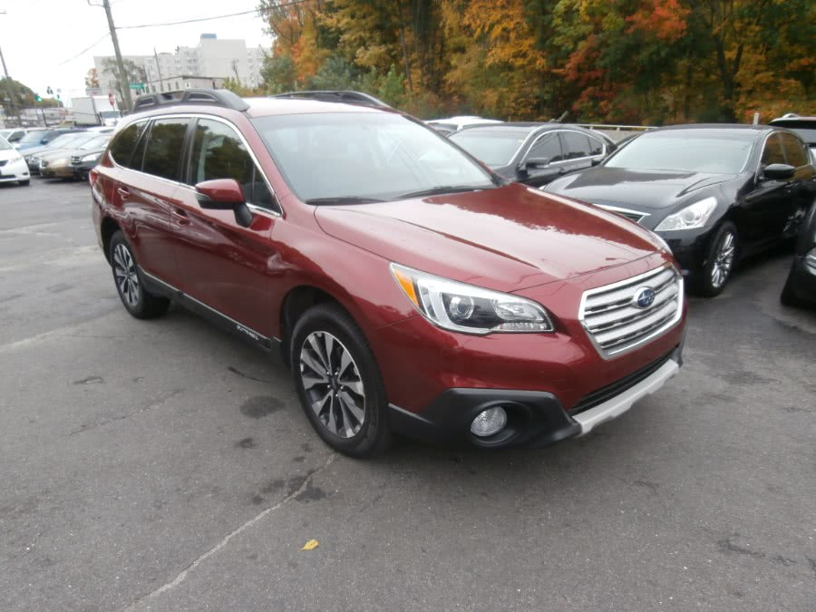 Used Subaru Outback 4dr Wgn 2.5i Limited PZEV 2015 | Jim Juliani Motors. Waterbury, Connecticut