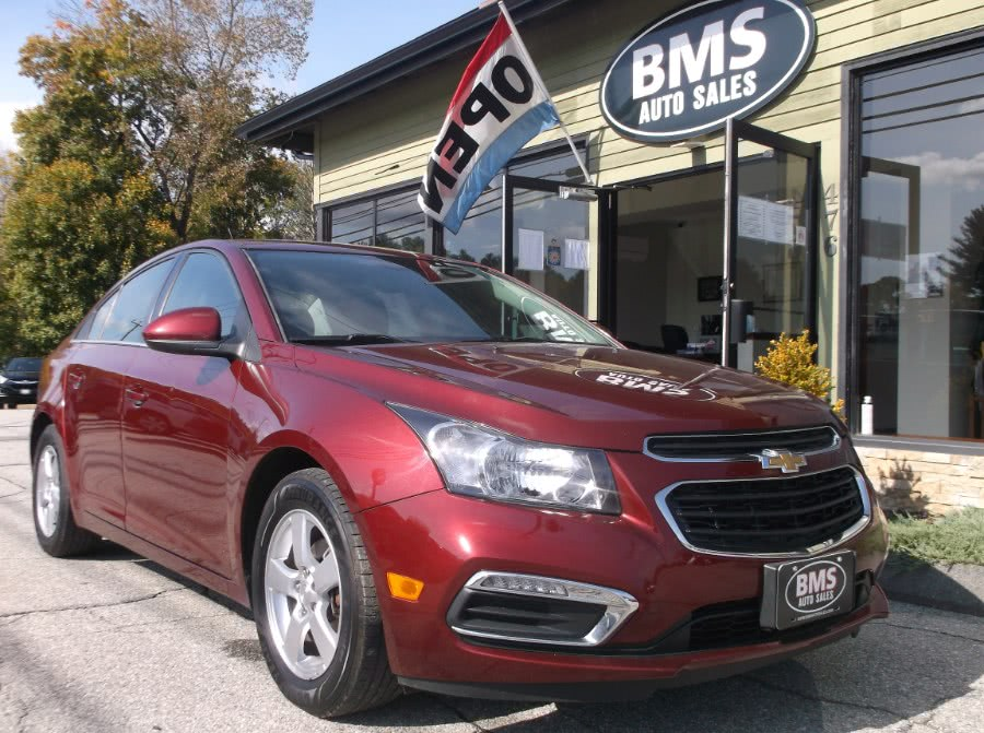 Used 2016 Chevrolet Cruze Limited in Brooklyn, Connecticut | Brooklyn Motor Sports Inc. Brooklyn, Connecticut
