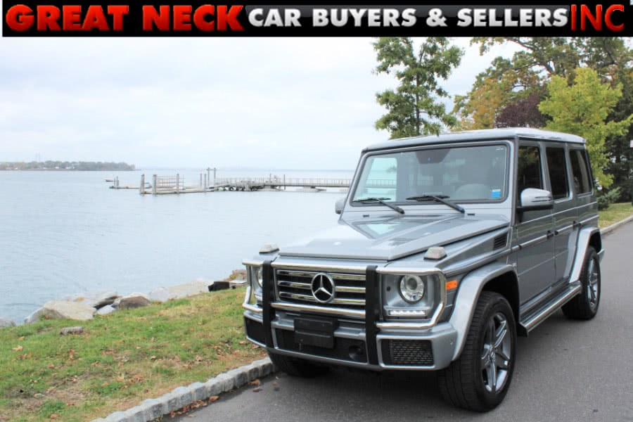 Used 2016 Mercedes-Benz G-Class in Great Neck, New York