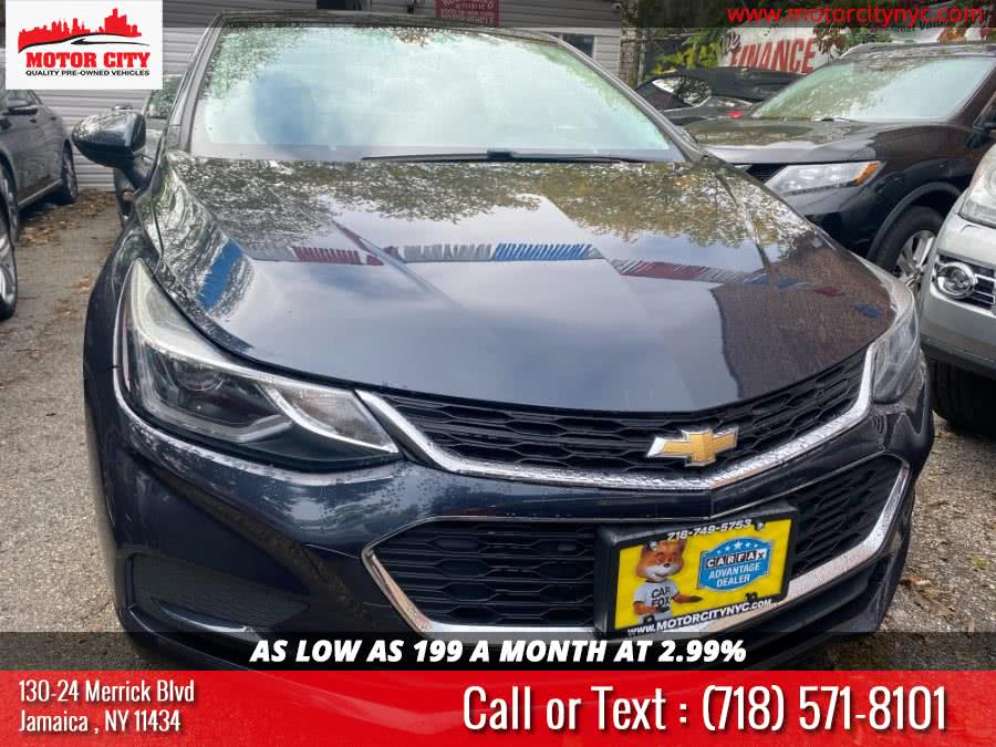2016 Chevrolet Cruze 4dr Sdn Auto LT, available for sale in Jamaica, NY