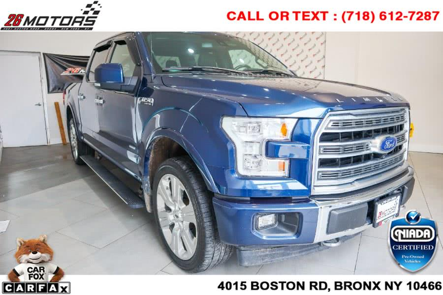 Used Ford F-150 Limited 4WD SuperCrew 5.5'' Box 2017 | 26 Motors Corp. Bronx, New York