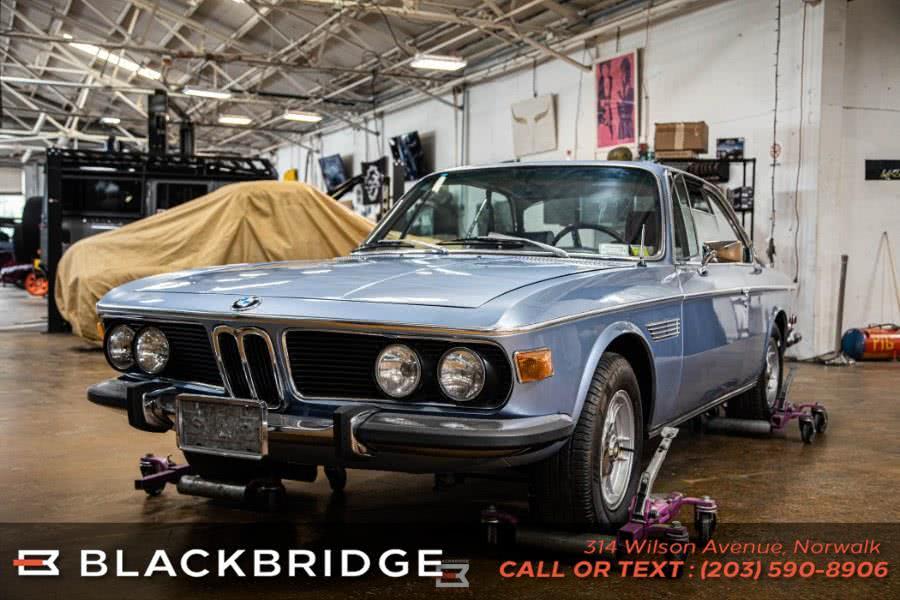 Used BMW 3.0 CS Coupe 1972 | Black Bridge Motors, LLC. Norwalk, Connecticut