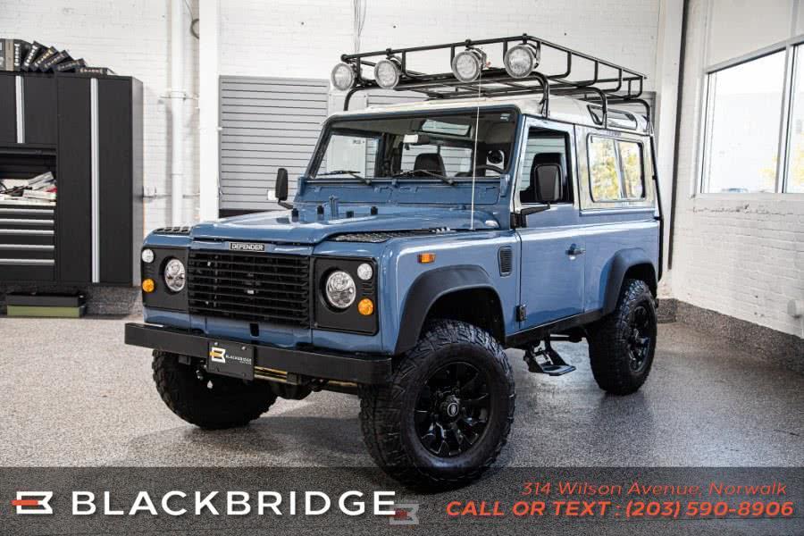 Used Land Rover Defender 90 1988 | Black Bridge Motors, LLC. Norwalk, Connecticut