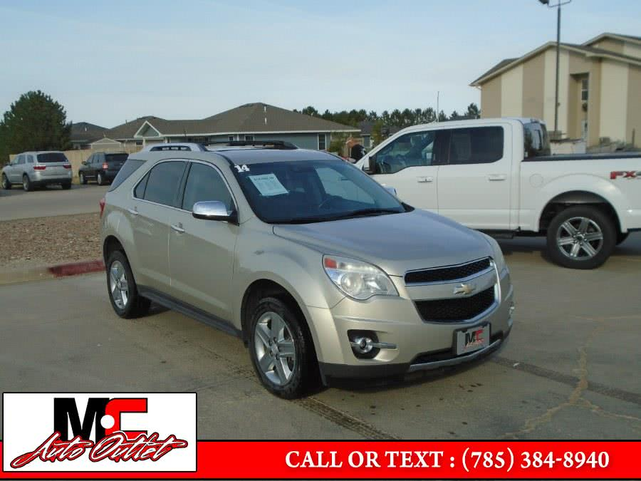 Used Chevrolet Equinox FWD 4dr LTZ 2014 | M C Auto Outlet Inc. Colby, Kansas