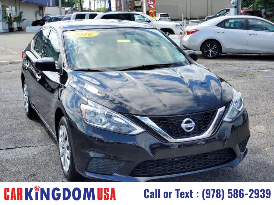Used Nissan Sentra SV 4-Door Sedan with The Nissan Connect Technology. 2016 | Car Kingdom USA. Lawrence, Massachusetts