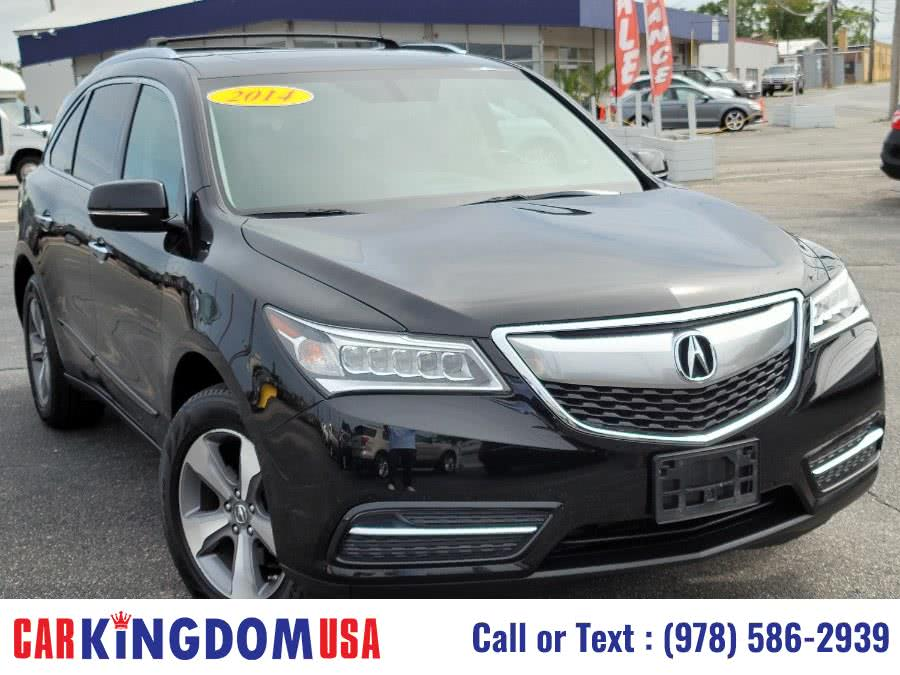Used Acura MDX SH AWD Luxury Sport SUV with The Acura Technology Package. 2014 | Car Kingdom USA. Lawrence, Massachusetts