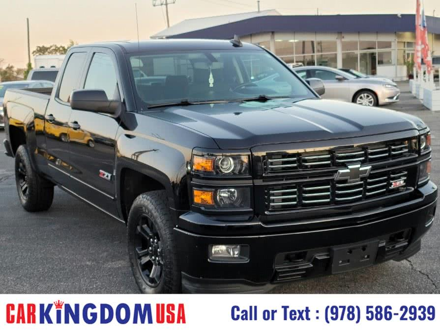 "Used Chevrolet Silverado LT Z71 1500 Double 4-Door 4WD Pick Up Truck. (143.5"") 2015 