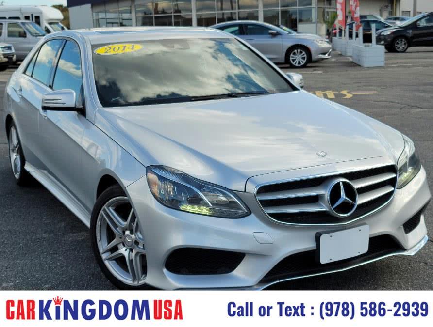 Used Mercedes-Benz E-Class 4dr Sdn E350 Sport 4MATIC 2014 | Car Kingdom USA. Lawrence, Massachusetts