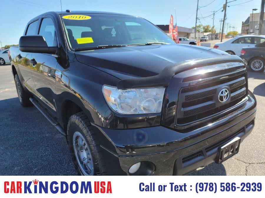 Used Toyota Tundra Crew Max TRD Rock Warrior Edition 4-Door Pick Up Truck. 2010 | Car Kingdom USA. Lawrence, Massachusetts