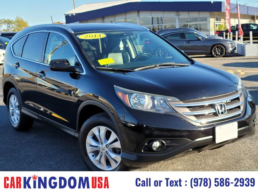 Used Honda CR-V EX-L AWD SUV with Rear View Back Up Camera System. 2014 | Car Kingdom USA. Lawrence, Massachusetts