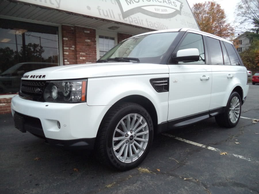 Used 2013 Land Rover Range Rover Sport in Naugatuck, Connecticut | Riverside Motorcars, LLC. Naugatuck, Connecticut