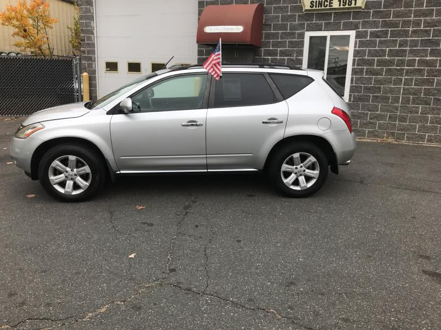 Used Nissan Murano AWD 4dr SL 2007 | The Car Company. Springfield, Massachusetts