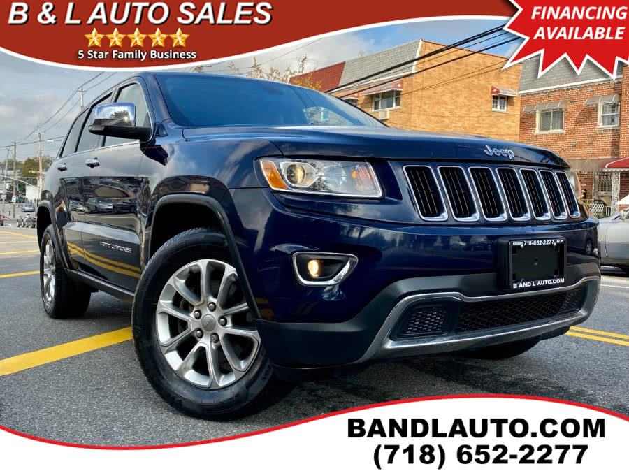 Used 2014 Jeep Grand Cherokee in Bronx, New York | B & L Auto Sales LLC. Bronx, New York