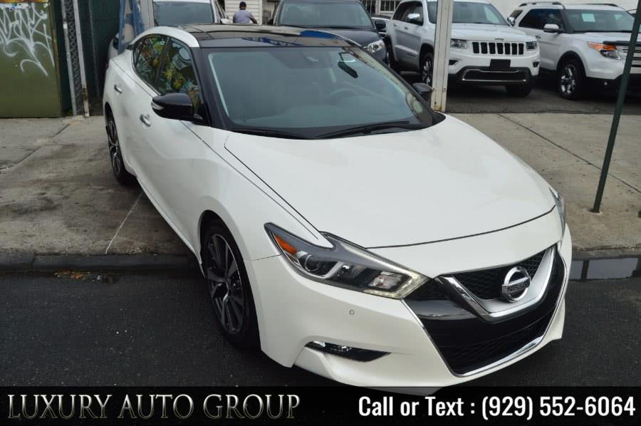 Used 2016 Nissan Maxima in Bronx, New York | Luxury Auto Group. Bronx, New York