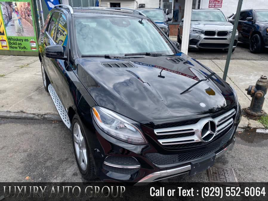 Used 2017 Mercedes-Benz GLE350 in Bronx, New York | Luxury Auto Group. Bronx, New York