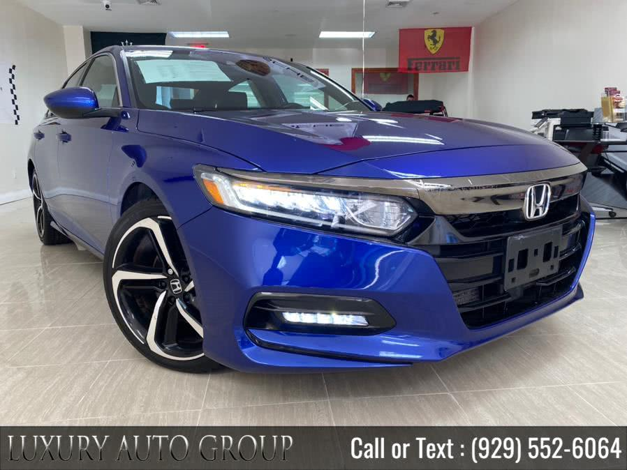 Used Honda Accord Sedan Sport 1.5T CVT 2018 | Luxury Auto Group. Bronx, New York