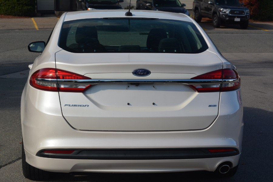 Used Ford Fusion SE FWD 2017 | New Beginning Auto Service Inc . Ashland , Massachusetts