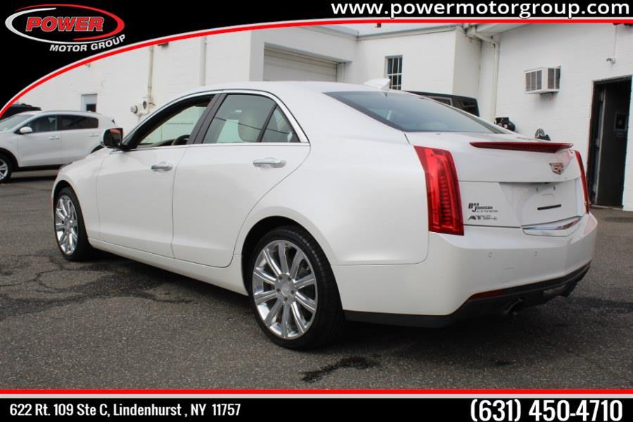 Used Cadillac ATS Sedan 4dr Sdn 2.0L Luxury AWD 2015 | Power Motor Group. Lindenhurst , New York