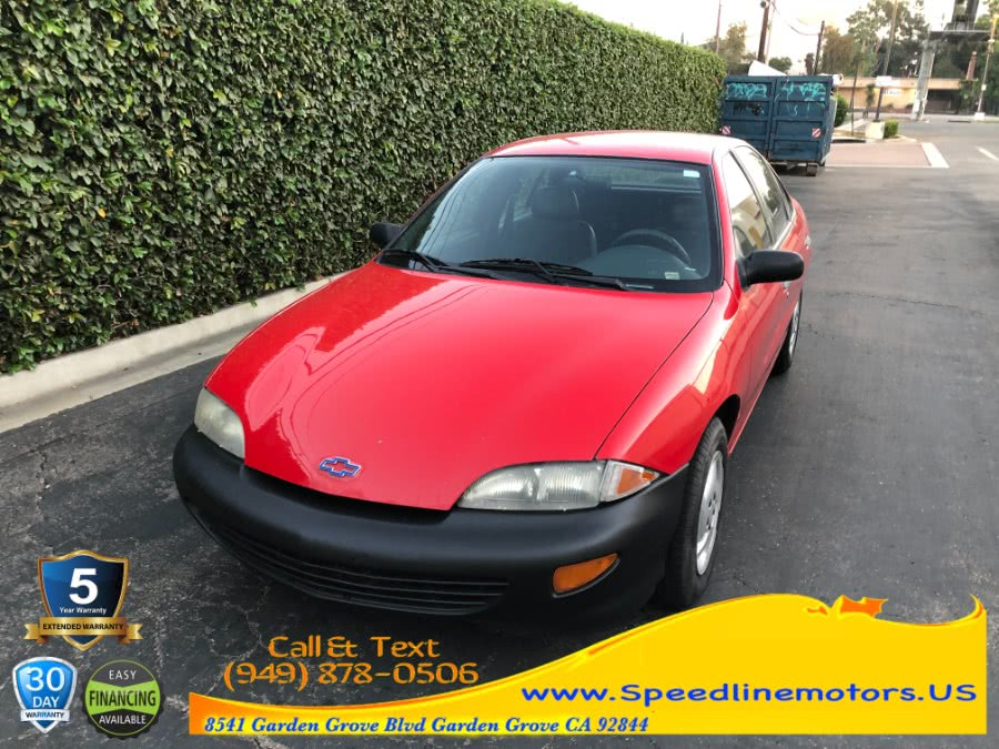 Used 1998 Chevrolet Cavalier in Garden Grove, California | Speedline Motors. Garden Grove, California