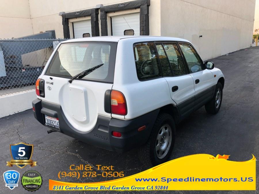 Used Toyota RAV4 4dr Auto 1997 | Speedline Motors. Garden Grove, California