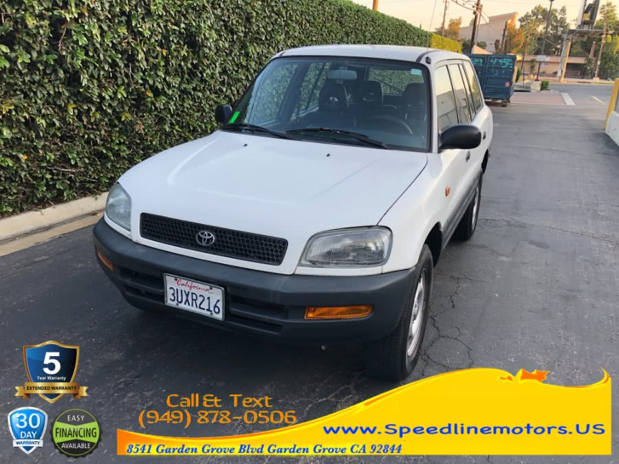 Used 1997 Toyota RAV4 in Garden Grove, California | Speedline Motors. Garden Grove, California