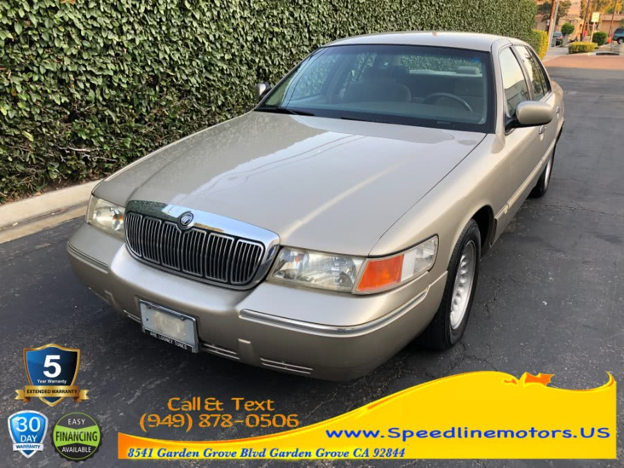 Used 1999 Mercury Grand Marquis in Garden Grove, California | Speedline Motors. Garden Grove, California